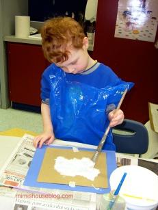 painting polarbear