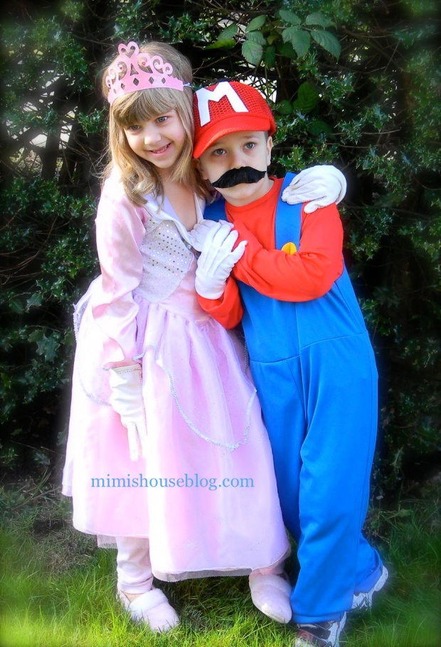 mario&princess peach