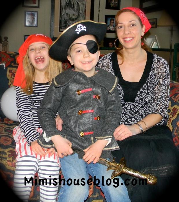 Yo-Ho-Ho! It's a Pirate Party!
